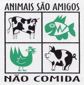 Resultado de imagem para animais sao amigos nao comida